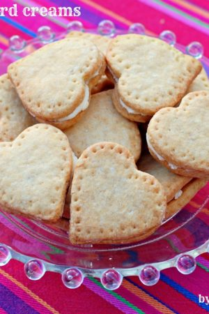 Nigella's Custard Creams for Valentine's Day