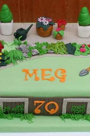 Birthday Cake Catch Up – featuring Paw Patrol, Postman Pat, a garden and a puppy