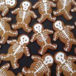 Skeleton gingerbread men