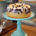Blueberry and Lemon iced ring
