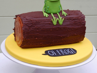 Corporate cake for Oi Frog!