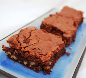 Chocolate and Walnut Brownies – Perfect for a Camping Trip to Cornwall