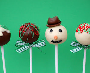 Christmas Cake Pop Time