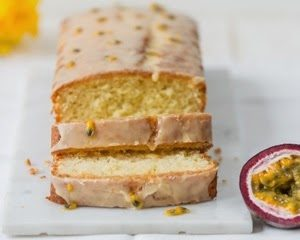 Passionfruit, Almond and Yoghurt Loaf Cake