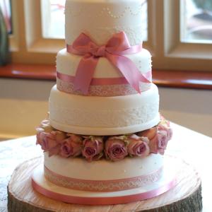 Celebration wedding cake