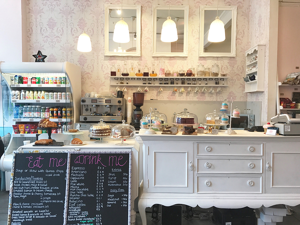 Cafe Partnerships the serving counter